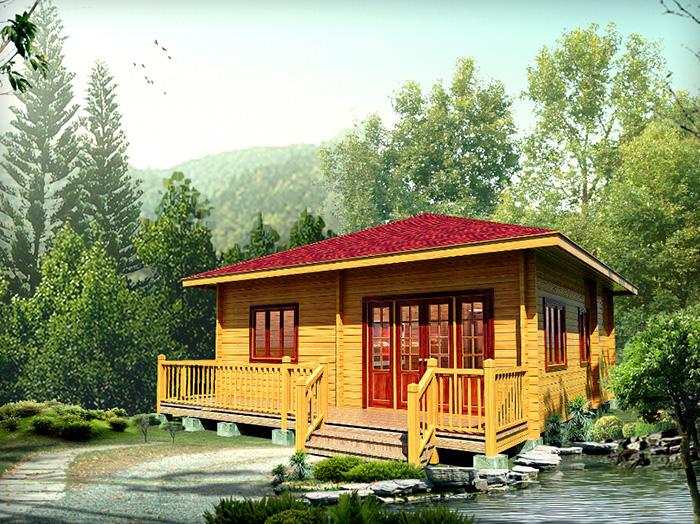 云南中式木屋