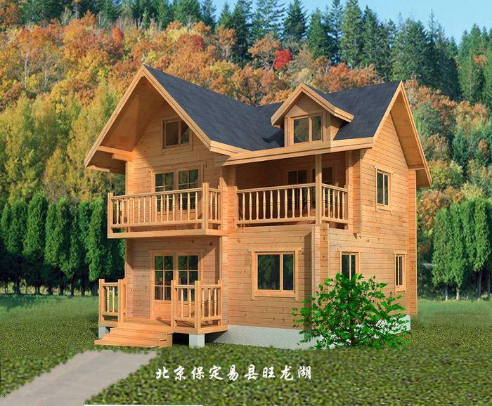 保定农村别墅15万砖混结构图